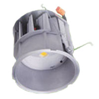 HAL 6 LED RETROFIT LIGHT ** KIT ** RET. MODULE 600 LUMEN 80 CRI 3045K WITH 6 LED FROSTED GLASS TRIM