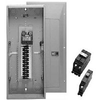 CUT CH22B100V 1PH 100A CB LDCNTR 1P 100AMP MAIN BREAKER PANEL 22C CH LOAD CENTER