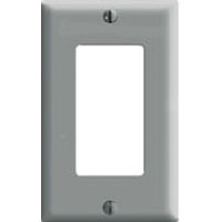 LEV 80401-GY 1G GRY DECORA PLATE