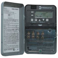 INT ET1705C 7-DAY 30 AMP SPST ELECTRONIC TIMESWITCH - CLOCK VOLTAGE 120-277V NEMA 1