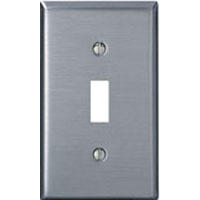 LEV 84001 1G SS SWITCH PLATE