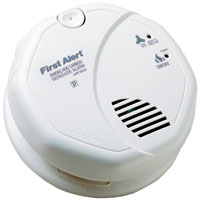 BRK SC7010BV 120V AC/DC PHOTO SMOKE/CO COMBO ALARM W/VOICE