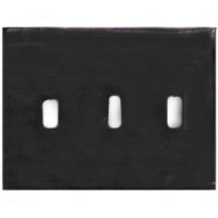 HUW NP3 WALLPLATE 3-G 3) TOGG BR