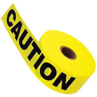 "ACE 6"" CAUTION TAPE YELLOW CAUTION TAPE"