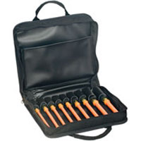 KLE 33524 9-PIECE INSULATED NUT DRIVER SET- 6 (152 MM) SHAFTS