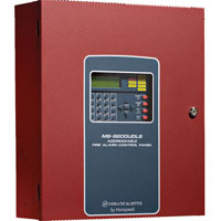 FLA MS-9200UDLS ADDRESSABLE FIRE ALARM CONTROL,198-POINTS ON ONE SIGNALING LINE CIRCUIT (SLC) LOOP, 24VDC