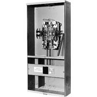 MIM U3741-XL-100 100A 1PH W/ BYPASS & BREAKER OH/UG