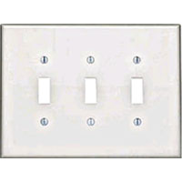 LEV 88111 3G WHT OVERSIZE SW PLATE