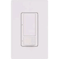 LUT MS-OPS6M2-DV-WH MSTRO PIR OCC 6A DV SWTCH WHITE PLATE NOT INCLUDED (80401W/NP26W)##