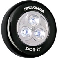 SYL LED/DOTS/BLACK/1X12/BL LED LGT 36008