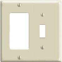 LEV 80405-I DECORA/SWITCH 2G PLATE