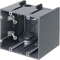 ARL F102 2 GANG SCREW MOUNT DEVICE BOX