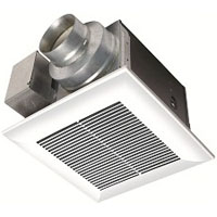 PANASONIC FV-08VQ5 80CFM .03 SONES VENTILATION WHISPERCEILING FAN