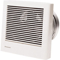 PANASONIC FV-08WQ1 70CFM WALL MOUNTED FAN, WHISPERWALL