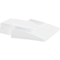 RAB WPLED20W LPACK WALLPACK 20W COOL LED W/ BACKPLATE + JUNC BOX WHITE