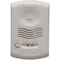 FLA CO1224T CONVENTIONAL CARBON MONOXIDE DETECTOR, 12/24 VDC, W/ SOUNDER AND TROUBLE RELEAY W/ TEST FUNCTION; UL2075 LISTED